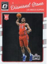 Diamond Stone rookie card Panini Donruss Optic 2016-17 (Los Angeles Clippers)