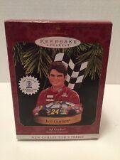 "New 1997 Hallmark ""Jeff Gordon"" Ornament - Stock Car Champions #1 - Nascar"