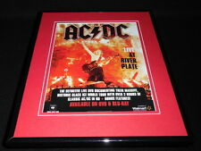 AC/DC 2011 Live at River Plate Framed 11x14 ORIGINAL Advertisement