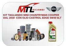 KIT TAGLIANDO MINI COUNTRYMAN COOPER DAL 2010  CON OLIO CASTROL EDGE 5W30 6LT