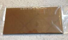 Filtro Soldadura de Cristal Espejado dorado 108x51x3 mm T. 13 Pantalla Soldador
