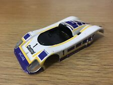 Scalextric Car Spares Jaguar XJ8 Castrol No1 C418 Body / Shell With Lenses