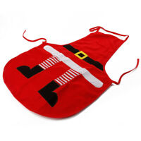 Christmas Apron Kitchen Cooking Adult Children Aprons Home Xmas Party Decoration