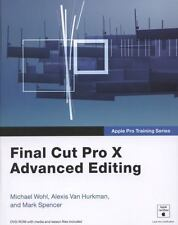 Apple Pro Training Series: Final Cut Pro X Advanced Editing-ExLibrary