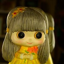 Vintage RARE Blythe Ceramic Doll Bank Sample Prototype Japan