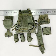 1/6 Hot Toys USMC MEU - Green Vest + Pouches