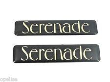 2 x Original Ford Serenade Abzeichen Emblem für Escort 1996 16V TD 1.6 1.8
