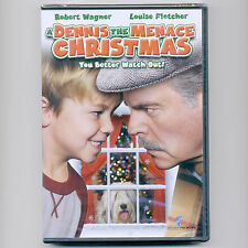 A Dennis The Menace Christmas comedy G movie, new DVD Robert Wagner, Max Cotton