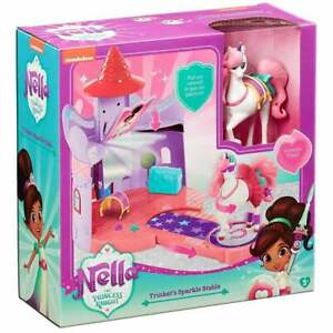 Nella the Princess Knight - Trinket's Stable Playset with Accessories & Catwalk