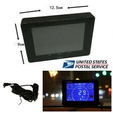 12V/24V GPS Car Speedometer+Odometer Gauge+Voltmeter Gauge+Time Hour Meter -US