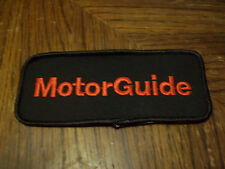 MOTOR GUIDE FISHING LURE PATCH SEW ON ( PUT ON VEST HAT JACKET )