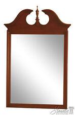 46059EC: KNOB CREEK ETHAN ALLEN Cherry Beveled Glass Mirror