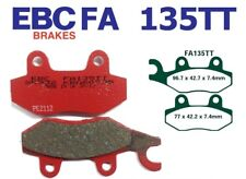 EBC Bremsbeläge FA135TT VORN SINNIS QM 125 GY Apache 125 (Rear drum model) 09-10