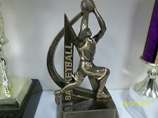 """basketball trophy or award, great new design, about 6"""" tall, w/ engraving"""