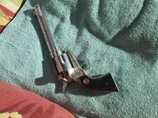 NICHOLS Stallion 45 MARK II cap pistol with six bullets in plastic clip  GOOD