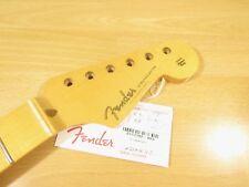 """Fender USA Eric Johnson Stratocaster Neck Fender 12"""" Rad Strat Maple Neck Global"""