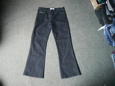 "M&Co Bootcut Jeans Size 12 Leg 30"" Black Faded Ladies Jeans"