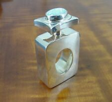 Taxco Gilson Opal Stone Top Sterling 925 Silver Mexico Perfume Bottle