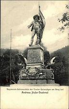 Berg Isel Bergisel bei Wilten AK ~1900 Andreas Hofer Denkmal Tiroler Kaiserjäger