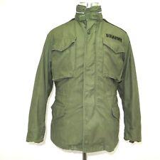 VINTAGE ORIGINAL US ARMY M-65 FIELD JACKET W/HOOD SMALL REGULAR 1968 VIETNAM