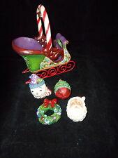 Jim Shore Hwc Jingle All The Way Christmas Sleigh Set/5 Free Shipping Offer