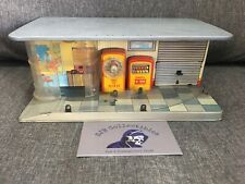 Vintage Gama German Tin Toy Shell Gas Station 1959