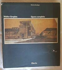 Winfried Nerdinger - Walter Gropius Opera completa- Electa
