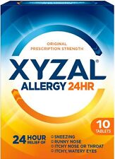 Xyzal 24 Hour Allergy Relief Tablets 10 ea