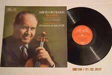 BRAHMS Violin Sonatas 1, 2 OISTRAKH BAUER RICHTER EMI ASD3425