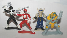 1995 Bandai Power Rangers Mighty Morphin PVC Rangers Sphinx Finster Mini Figs