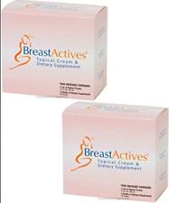 Breast Actives Breast Enhancement System -2 month supply New In Box - UK  Seller