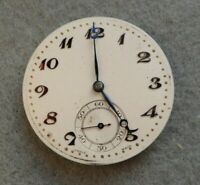 Slim pocket watch movement for repair, calibre 902, 15 jewels, 41.6 mm.