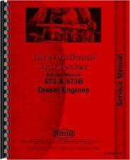 International Harvester Crawler Service Manual Ih S Eng 573b