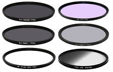 ICE 77mm Master 6 Glass Filter Set Slim ND1000 ND64 ND32/CPL MCUV LiPo Grad ND