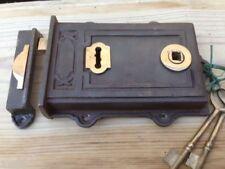 Iron/Cast iron Victorian Antique Locks