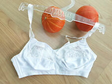 FRILLYS by PANACHE White full cover wire free Bra 34B  NEW Bargain RRP£26