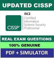 ISC2 Information Systems Security Management Pro CISSP-ISSMP Exam Q/&A PDF+SIM