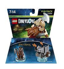 Lego Dimensions 71220 nain Gimli Lord of the rings seigneur des anneaux Fun Pack