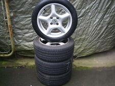4 Alufelgen mit Reifen für VW Polo / Kompletträder / gebraucht