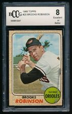 BROOKS ROBINSON 1968 TOPPS #20 BCCG 8 *BALTIMORE ORIOLES*