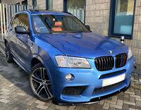 TOP SPEC BMW INDIVIDUAL ESTROIL BLUE X3 XDRIVE M SPORT DIESEL AUTO PAN ROOF NAV