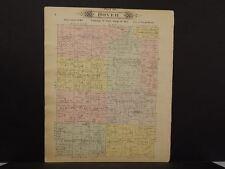 Missouri Vernon County Map Dover Township 1903 Dbl Side  L10#97
