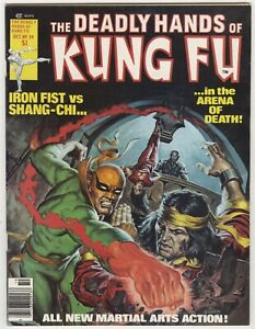 The Deadly Hands of Kung Fu #29 VF/NM 9.0 HI GRADE Curtis Magazine Shang-Chi