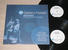 GAETANO PARTIPILO (NICOLA CONTE, FABRIZIO BOSSO) - BESIDES - 2 LP 33 GIRI