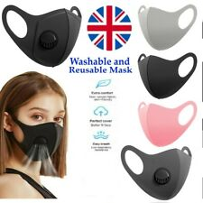 Reusable Face Mask Virus Dust Protection Washable Protective Covering Full Face