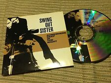 SWING OUT SISTER SPANISH CD SINGLE SPAIN SOMEWHERE DEEP - CARD SLEEVE EMI 2002