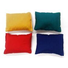 Throwing Bean Bags x 4 Coloured School PE Bags 4 Colours