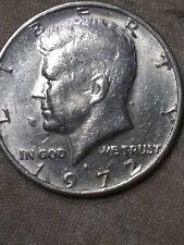 1972 D Kennedy Half Dollar Clash obverse side F&B of **Head**