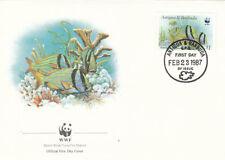 Antigua and Barbuda 1987 Fish on  cover
