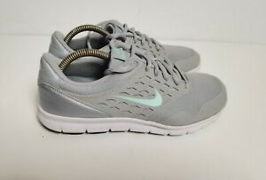 Nike Orive Athletic Shoes 677136 Grey Silver Women's Sz 6.5 Trainers Sneakers